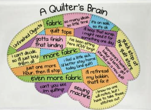 quilters brain